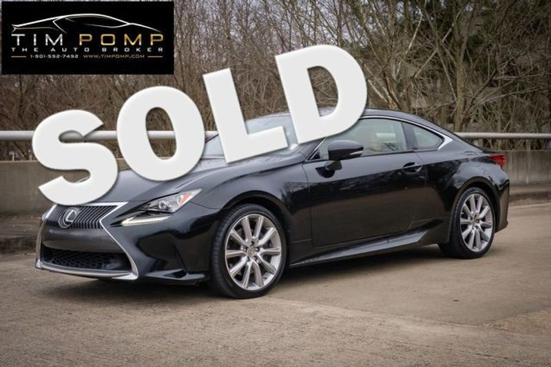 2015 Lexus RC 350 LEATHER SUNROOF | Memphis, Tennessee | Tim Pomp - The Auto Broker in Memphis Tennessee
