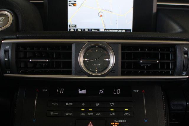 2015 Lexus RC F PREMIUM & NAV/MARK LEVINSON PKGS - RADAR CRUISE! Mooresville , NC 41