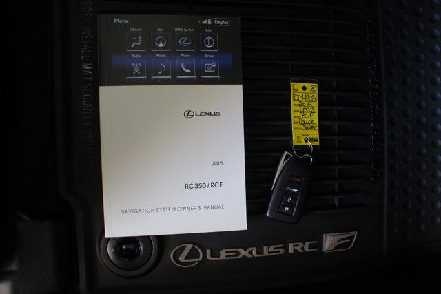 2015 Lexus RC F PREMIUM & NAV/MARK LEVINSON PKGS - RADAR CRUISE! Mooresville , NC 19