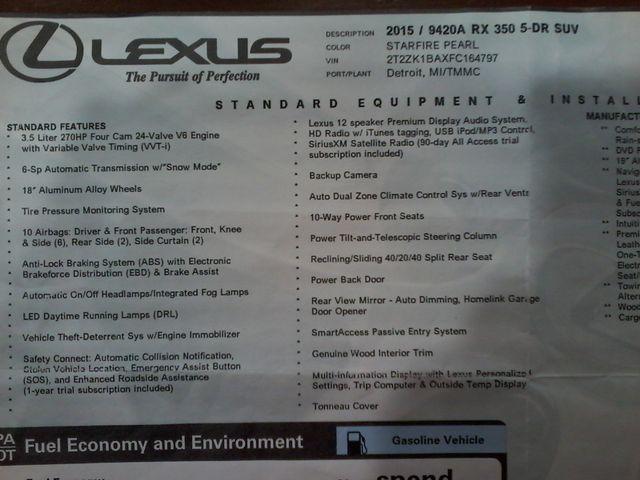 2015 Lexus RX 350 5 Door Boerne, Texas 41
