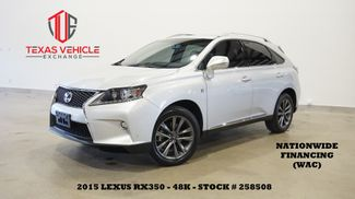 2015 Lexus RX 350 F Sport AWD ROOF,NAV,HTD/COOL LTH,48K,WE FINANCE in Carrollton, TX 75006