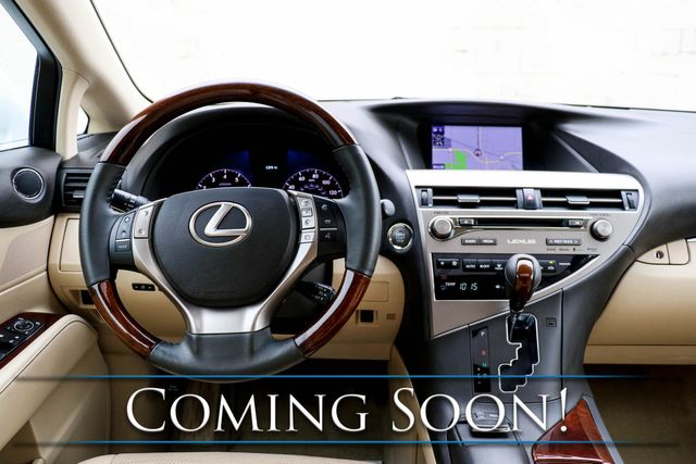 2015 Lexus RX 350 AWD/Navi, Backup Cam, Heated & Cooled Seats, Power Moonroof & Bluetooth Streaming in Eau Claire, Wisconsin 54703