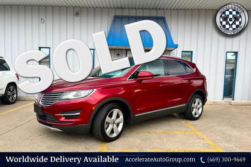 2015 Lincoln MKC 2.0L EcoBoost Leather Heated Seats Clean Carfax in Rowlett Texas