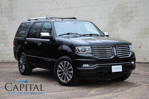 2015 Lincoln Navigator 4WD Luxury SUV w/3rd Row Seating, Navigation, Heated/Cooled Seats & 20-Inch Wheels in Eau Claire