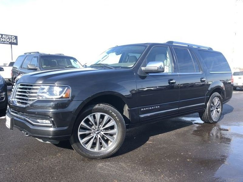 2015 Lincoln Navigator L 4x4 Navi Roof 3rd Row 1-Own Clean Carfax We Fina | Canton, Ohio | Ohio Auto Warehouse LLC in Canton Ohio