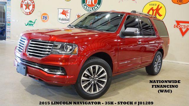 2015 Lincoln Navigator SUNROOF,NAV,BACK-UP,HTD/COOL LTH,20'S,35K!