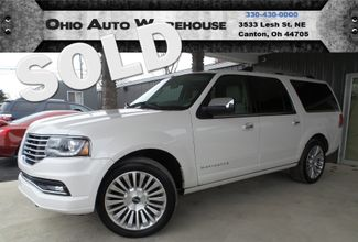 2015 Lincoln Navigator L 4x4 EcoBoost Navi Sunroof 3rd Row 1-Own We Finance | Canton, Ohio | Ohio Auto Warehouse LLC in Canton Ohio