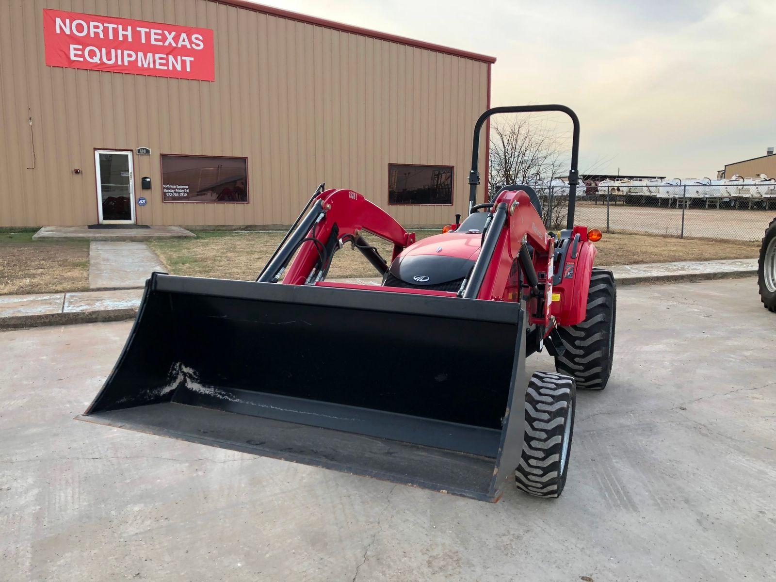 2015 Mahindra 1533 4X4 city TX North Texas Equipment
