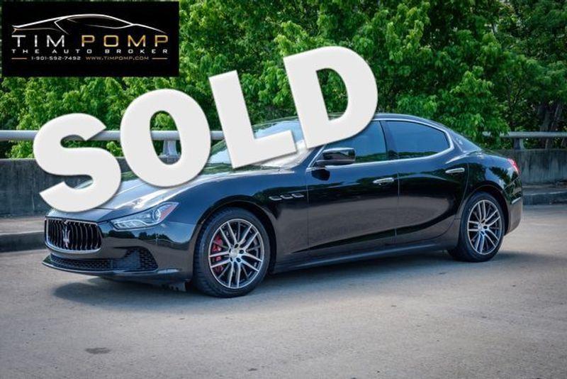 2015 Maserati Ghibli SUNROOF   Memphis, Tennessee   Tim Pomp - The Auto Broker in Memphis Tennessee
