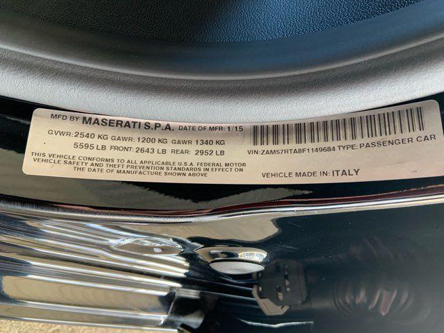 2015 Maserati Ghibli S Q4 * Sport Pkg * Premium Pkg * Audio Pkg * WOW in Carrollton, TX 75006