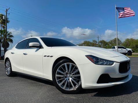 2015 Maserati Ghibli NAV MOONROOF LEATHER XM WHITE/WHITE  in , Florida