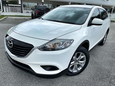 2015 Mazda CX-9 SPORT LEATHER 3RD ROW CARFAX CERT 1 OWNER in Plant City, Florida