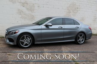 2015 Mercedes-Benz C300 4Matic AWD Luxury Car w/Sport Pkg, LED Headlights, Heated/Cooled/Memory Seats & AMG Rims in Eau Claire, Wisconsin 54703