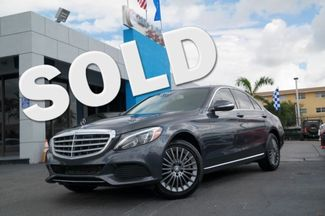 2015 Mercedes-Benz C 300 Luxury Hialeah, Florida