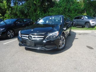 2015 Mercedes-Benz C 300 4MATIC. PUSH START. BURMESTER PREM SOUND SYSTEM SEFFNER, Florida