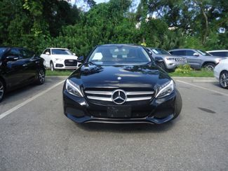 2015 Mercedes-Benz C 300 4MATIC. PUSH START. BURMESTER PREM SOUND SYSTEM SEFFNER, Florida 10
