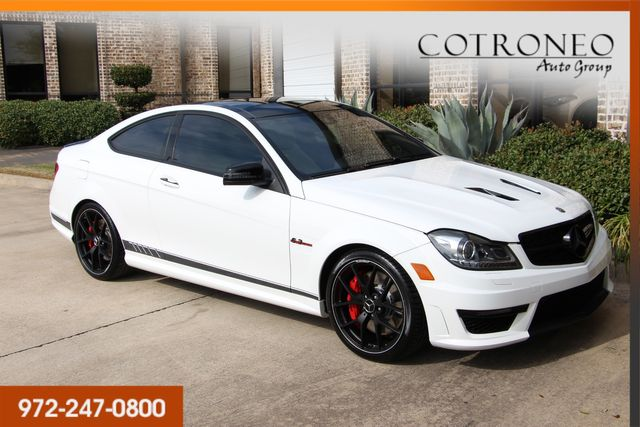 2015 Mercedes-Benz C 63 AMG Coupe Edition 507 in Addison, TX 75001