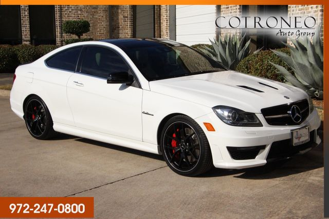 2015 Mercedes-Benz C 63 AMG Edition 507 in Addison, TX 75001