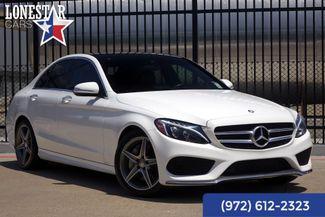 2015 Mercedes-Benz C Class C300 Clean Carfax Sport Pkg. Premium Pkg.AMG in Plano Texas, 75093