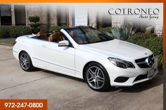 2015 Mercedes-Benz E 400 Convertible Sport in Addison, TX 75001