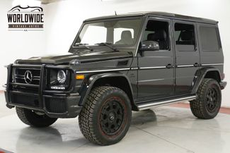 2015 Mercedes-Benz G 63 RARE COLOR FULL OPTION LIFT CUSTOM LOW MI | Denver, CO | Worldwide Vintage Autos in Denver CO