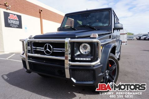 2015 Mercedes-Benz G63 AMG G Class 63 G Wagon Diamond Stitched $149k MSRP | MESA, AZ | JBA MOTORS in MESA, AZ
