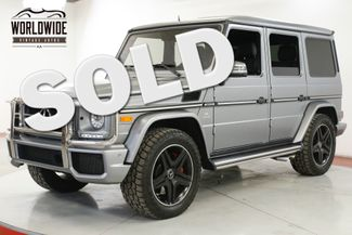 2015 Mercedes Benz G63  RARE FACTORY MATTE GREY CARFAX  | Denver, CO | Worldwide Vintage Autos in Denver CO