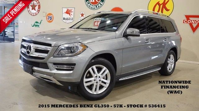 2015 Mercedes-Benz GL 350 BlueTEC 4-MATIC ROOF,NAV,360 CAM,HTD LTH,57K!