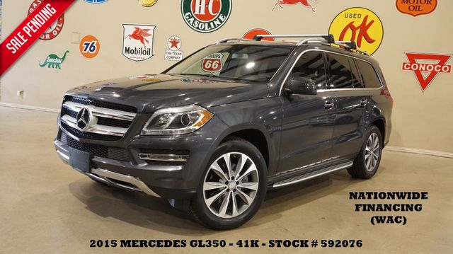 2015 Mercedes-Benz GL 350 BlueTEC 4-MATIC ROOF,NAV,360 CAM,HTD LTH,41K
