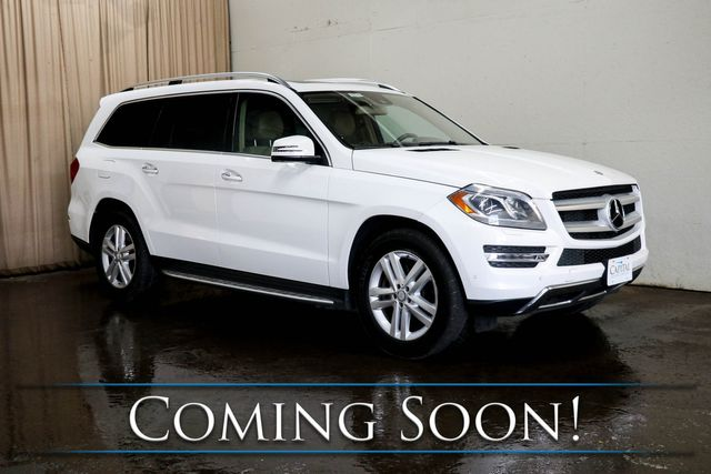 2015 Mercedes-Benz GL450 4MATIC AWD w/3rd Row Seats, Navi, Heated Seats, Moonroof & Harman/Kardon Audio