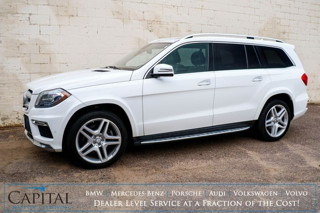 "2015 Mercedes-Benz GL550 4Matic 4WD 7-Passenger SUV with Autonomous Cruise, Massage Seats & 21"" AMG Wheels in Eau Claire, Wisconsin 54703"