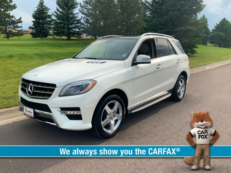 2015 Mercedes-Benz M-Class 4d SUV ML400  city MT  Bleskin Motor Company   in Great Falls, MT