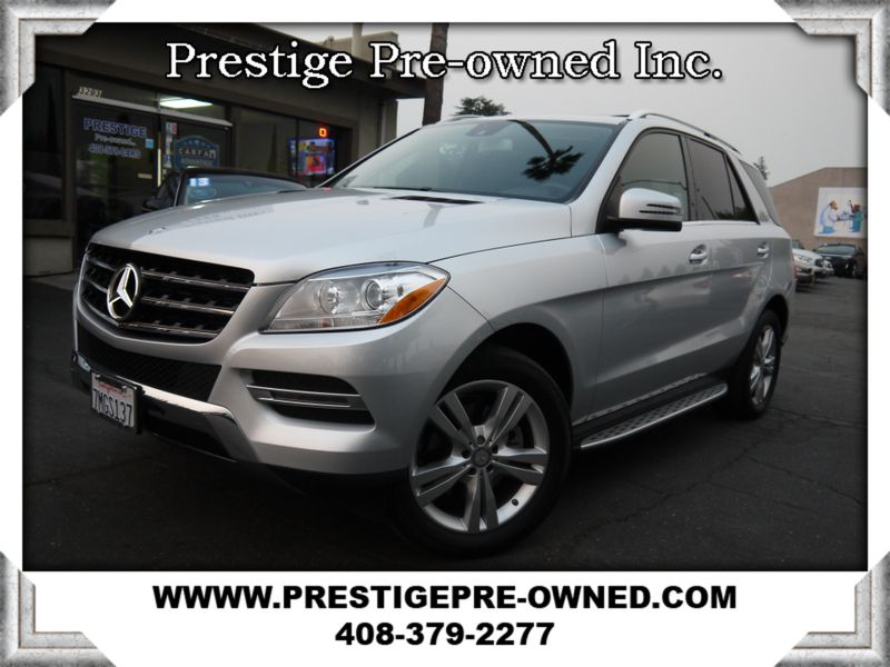 2015 Mercedes-Benz ML 350 ((**AWD/NAVI/BACK UP CAMERA**))  in Campbell CA