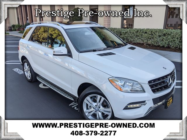 2015 Mercedes-Benz ML 350 ((**AWD..NAVI & BACK UP CAM..LEATHER..MOONROOF**)) in Campbell, CA 95008