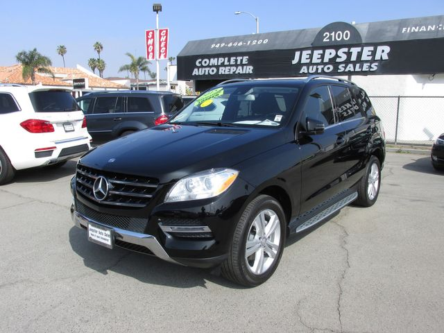 2015 Mercedes-Benz ML 350 SUV in Costa Mesa, California 92627