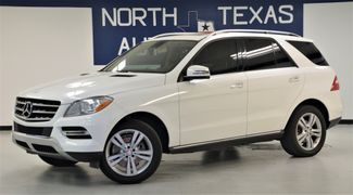 2015 Mercedes-Benz ML 350 Navigation Sunroof Back up Camera One Owner in Dallas, TX 75247