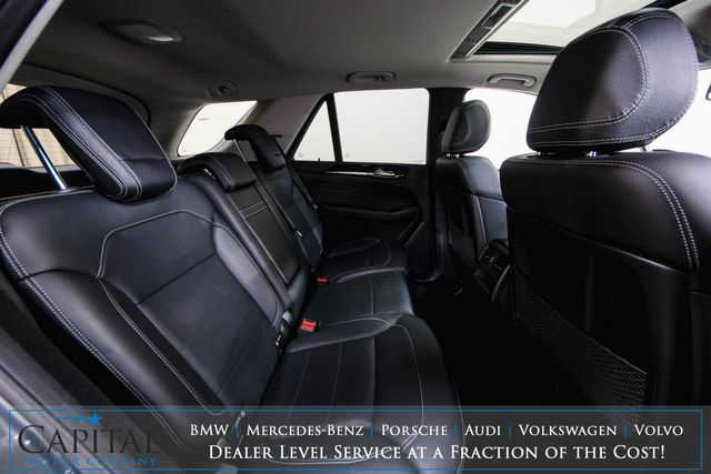 2015 Mercedes-Benz ML350 4MATIC AWD Luxury SUV w/Navigation, Backup Cam, Moonroof, Heated Seats & Tow Package in Eau Claire, Wisconsin 54703