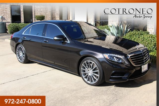 2015 Mercedes-Benz S 550 4MATIC Sedan Sport in Addison, TX 75001