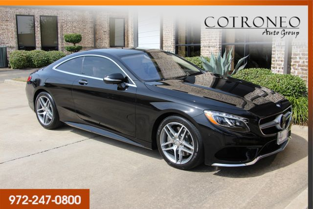 2015 Mercedes-Benz S 550 4MATIC Coupe Sport