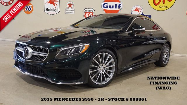 2015 Mercedes-Benz S 550 Coupe 4MATIC HUD,ROOF,NAV,360 CAM,BURMESTER,7K