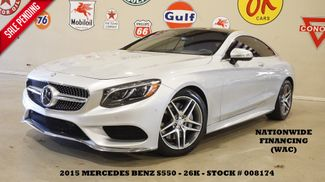 2015 Mercedes-Benz S 550 Coupe 4MATIC MSRP 139K,PREM PKG,SPORT PKG,26K in Carrollton, TX 75006
