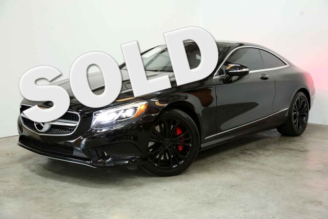 2015 Mercedes-Benz S 550 coupe Houston, Texas