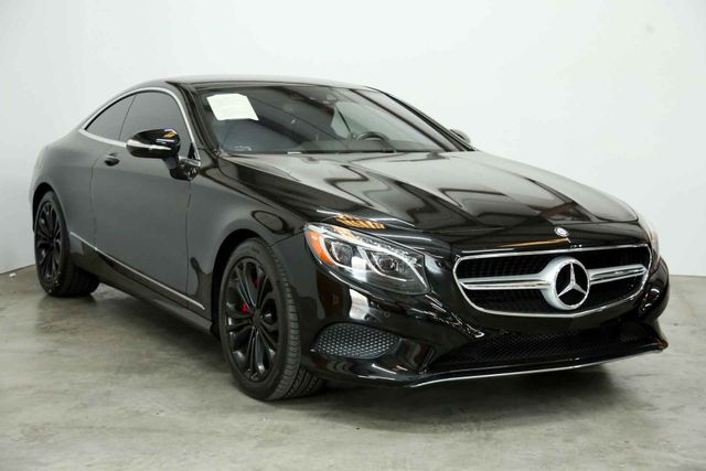 2015 Mercedes-Benz S 550 coupe Houston, Texas 1