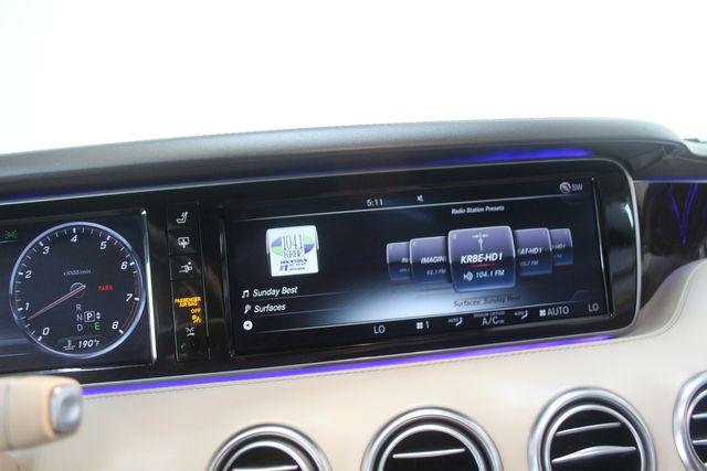 2015 Mercedes-Benz S 550 Coupe Houston, Texas 28