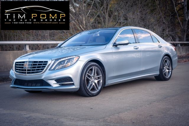 2015 Mercedes-Benz S 550 AMG SPORT PACKAGE PANO ROOF in Memphis, Tennessee 38115