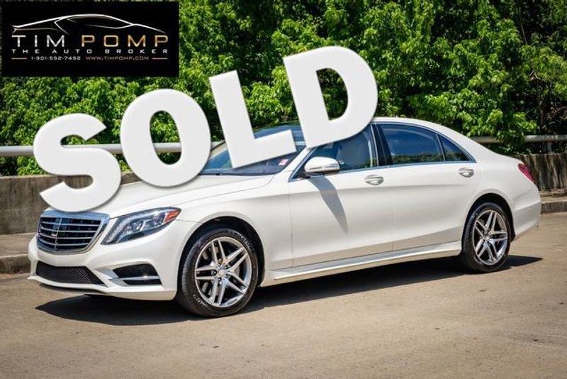 2015 Mercedes-Benz S 550    Memphis, Tennessee   Tim Pomp - The Auto Broker in Memphis Tennessee