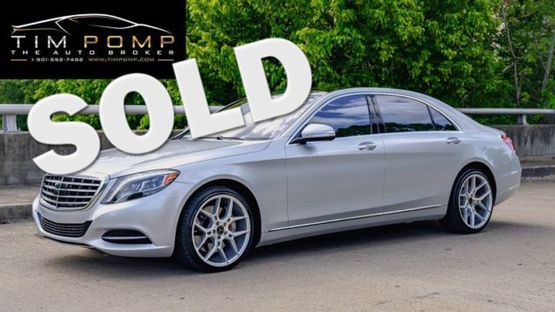 2015 Mercedes-Benz S 550 PNO ROOF $5000 IN WHEEL UPGRADES | Memphis, Tennessee | Tim Pomp - The Auto Broker in Memphis Tennessee