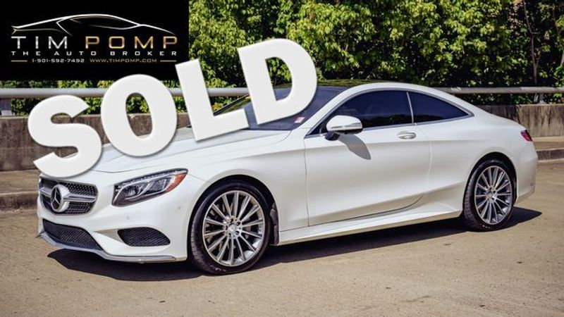 2015 Mercedes-Benz S 550 PANO ROOF MB CERTIFIED IN 2018   Memphis, Tennessee   Tim Pomp - The Auto Broker in Memphis Tennessee