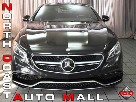2015 Mercedes-Benz S 63 AMG 2dr Coupe S 63 AMG 4MATIC in Akron, OH