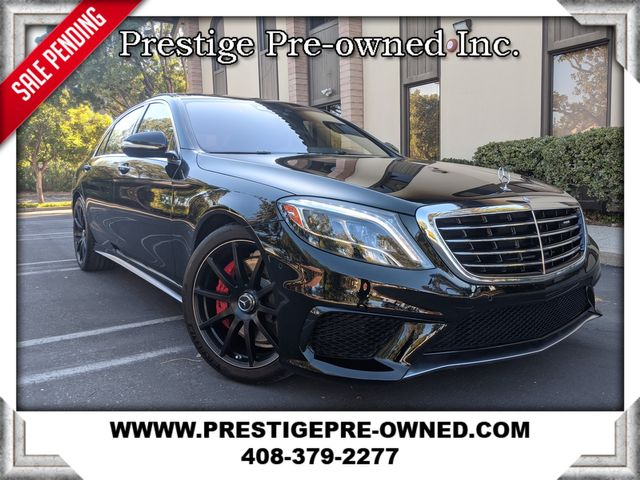 2015 Mercedes-Benz S 63 AMG ((**$145K ORIGINAL MSRP**))